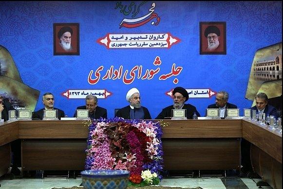 قدردانی روحانی از هدایتهای رهبری در مذاکرات/ از تحریم نمیترسیم
