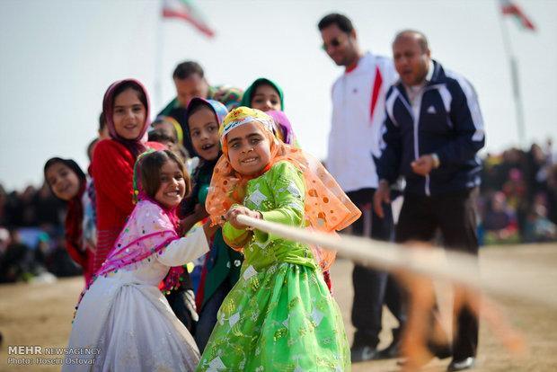 جشنواره بازی های بومی و محلی در کوهرنگ برگزار شد