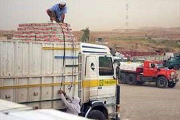 صادرات از مرز بین المللی مهران به عراق افزایش یافت