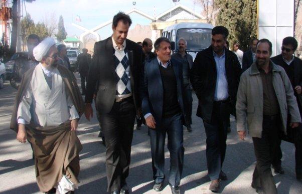 محسن هاشمی رفسنجانی معاون عمرانی دانشگاه آزاد