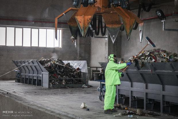 افتتاح اولین کارخانه زباله سوز کشور