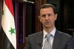 بشار اسد کا رہبر معظم اور ایرانی صدر کے نام پیغام