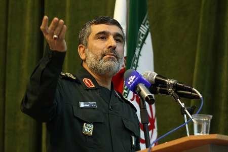 العميد حاجي زاد : الصهاينة ليسوا بحجم المواجهة والحرب مع ايران
