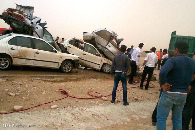 حوادث اهواز تصادف وحشتناک تصادف مرگبار اخبار حوادث اخبار تصادف اخبار اهواز