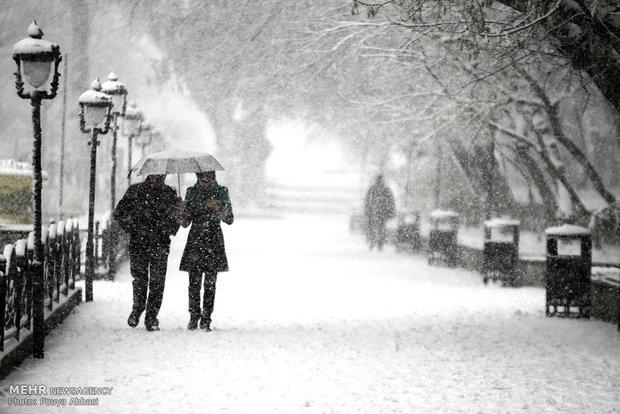 پیش بینی بارش برف در اغلب نقاط اردبیل