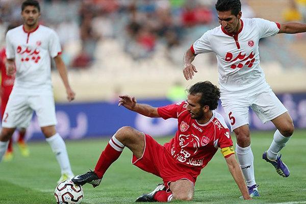 دیدار تیم های پدیده مشهد و پرسپولیس