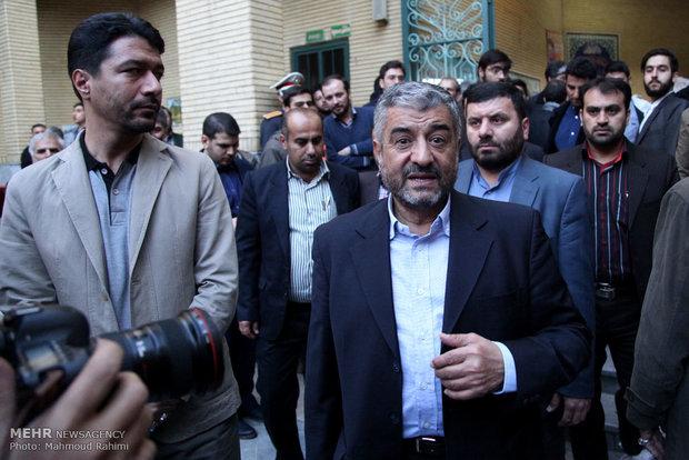 گزارش تصویری خبرگزاری مهر از مراسم  ترحیم والده دکترمحمود احمدی نژاد