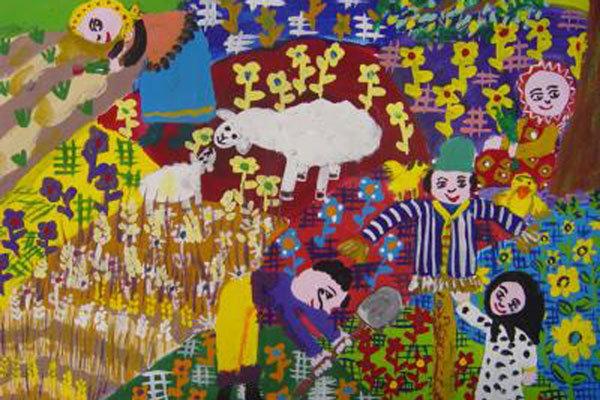 جایزه اول مسابقه نقاشی ژاپن به دختر 10 ساله ایرانی رسید