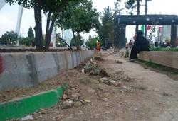 پارک مرکزی دهدشت زخمی کهنه برپیکر شهر/فضای سبزی که آزاردهنده است