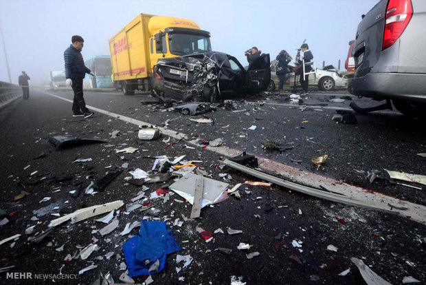 تلفات جادهای استان اصفهان کاهشی نداشته است