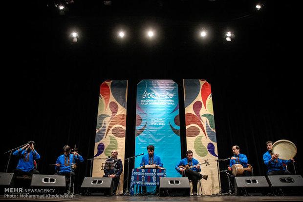 چهارمین روز جشنواره بین المللی موسیقی فجر
