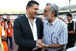 حسین فرکی - علی دایی