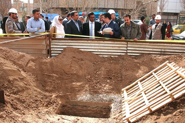 بازدید نمایندگان بانک توسعه اسلامی از تصفیهخانه فاضلاب قم
