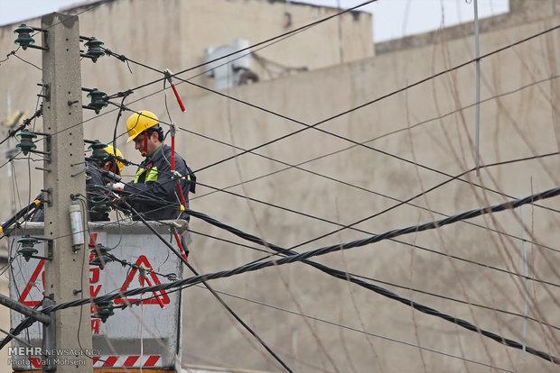 مانور شهری اصلاح و بهینه سازی شبکه توزیع برق فشار ضعیف