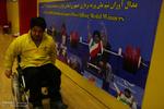 مسابقات رکوردگیری وزنه برداری جانبازان و معلولین