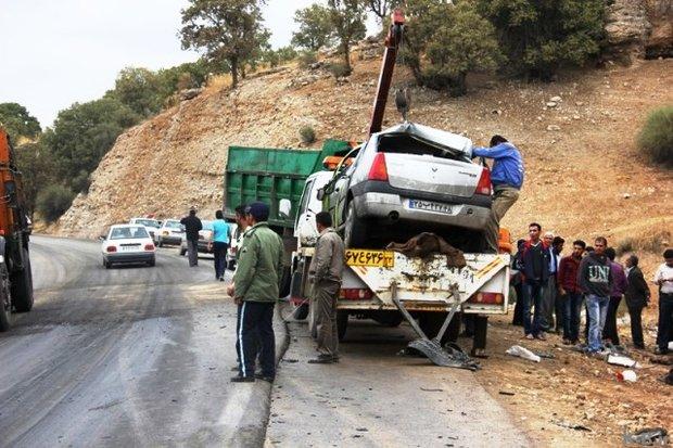 تصادف در جاده یاسوج