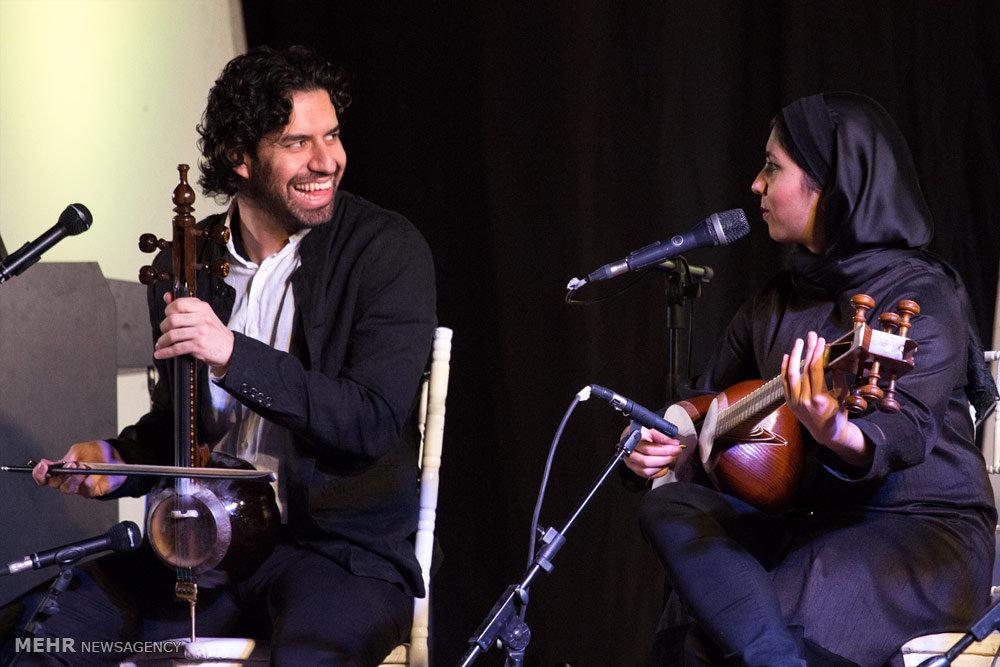 Homayoun Shajarian's concert in Gorgan - IN PHOTOS