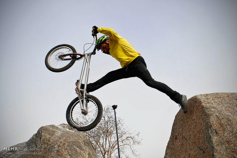 Mountain bike trial in western Iran - IN PHOTOS