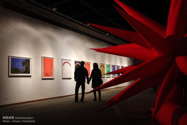 نمایشگاه اتو پینه افتتاح شد/ آثار بنیانگذار «زیرو» در ایران