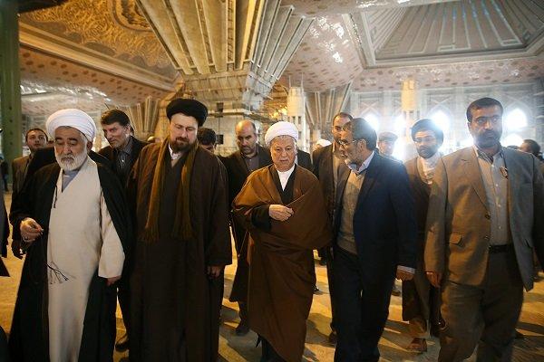 تجدید میثاق هاشمی رفسنجانی با آرمان های امام خمینی(ره)