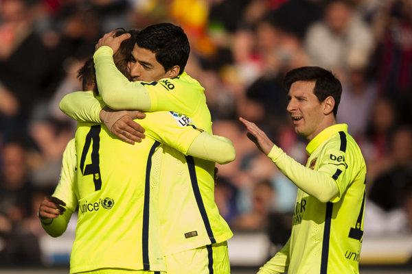 پیروزی بارسلونا در زمین گرانادا/ موتور گلزنی سوارز روشن شد