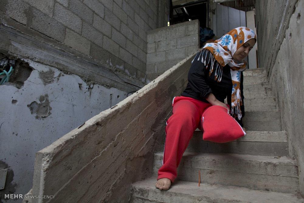 هزینه های انسانی جنگ غزه