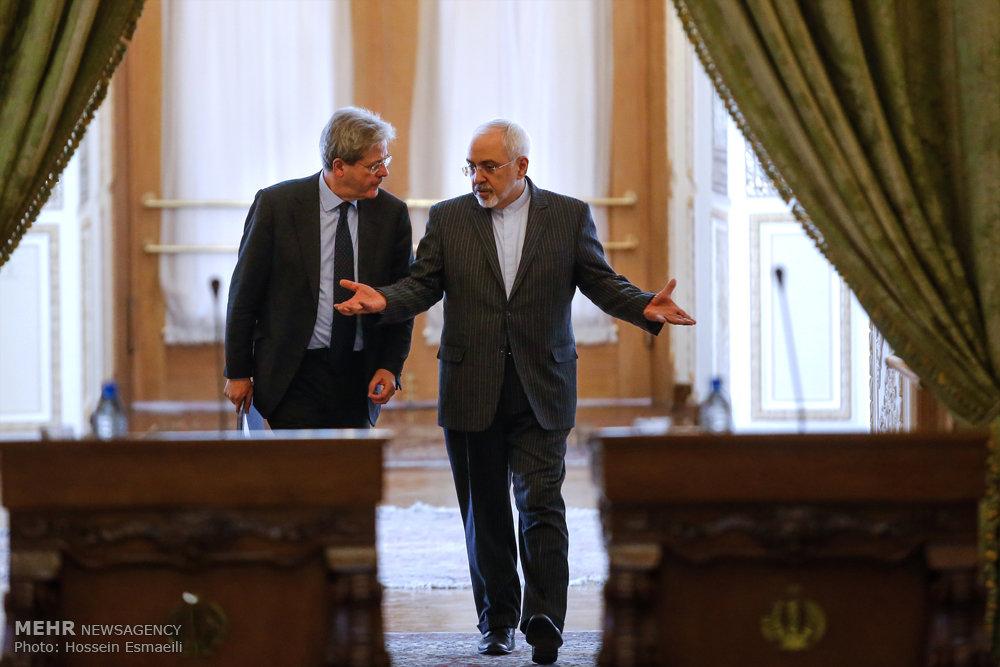 Iranian, Italian FMs meet - IN PHOTOS