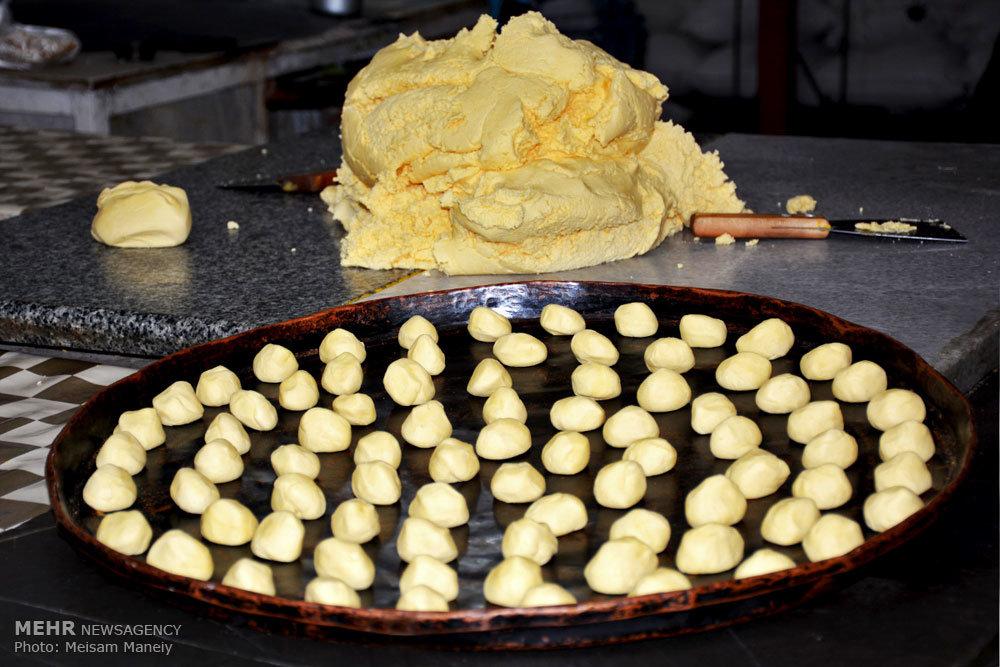 کارگاه پخت شیرینی کرمانشاهی