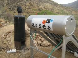 ۲۲۰ آبگرمکن خورشیدی و تنور گازی بین روستاییان سمنان توزیع شد