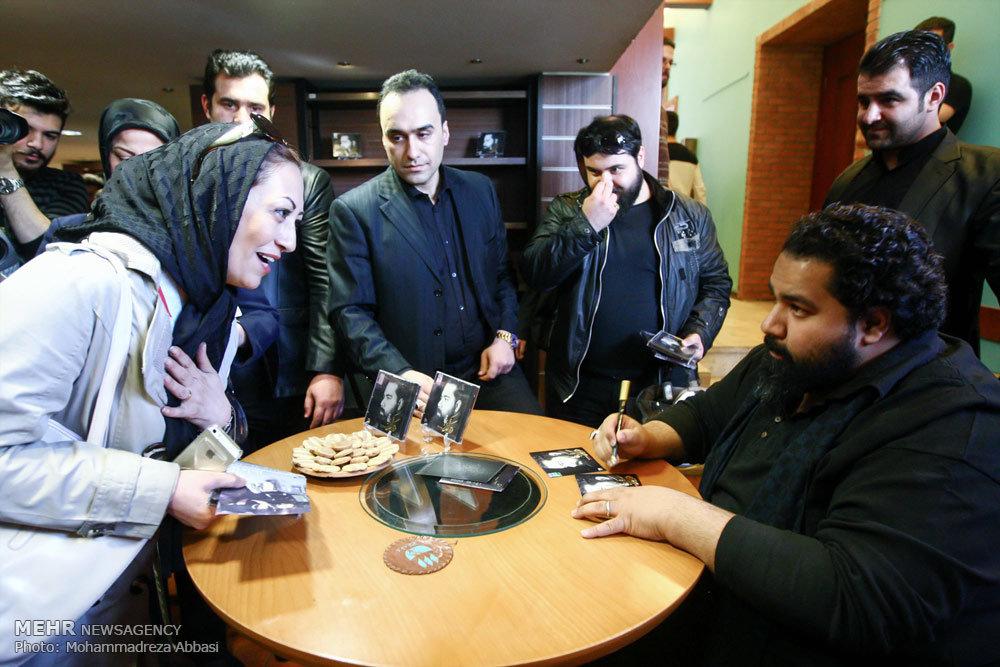Pop singer Sadeqi unveils new album - IN PHOTOS