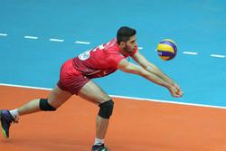 ملیپوش والیبال ایران در جمع برترینهای لیگ ملتها