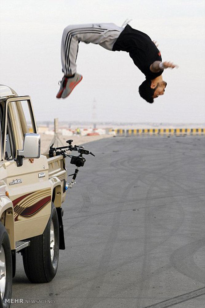 ژیمناستیک خیابانی در دوبی