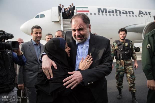 بازگشت دیپلمات ایرانی ربوده شده در یمن