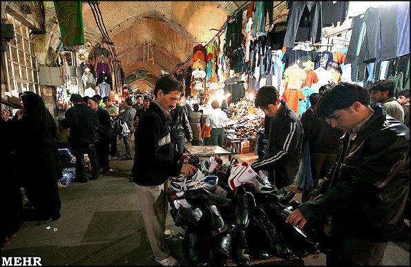 رکود در بازار شب عید شهرهای گلستان/کاهش قدرت خرید