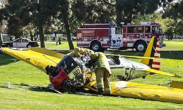 سقوط هواپیمای هریسون فورد/ بازیگر هالیوود زنده است