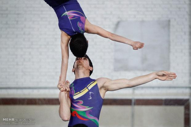 مسابقات قهرمانی آکروباتیک ژیمناستیک