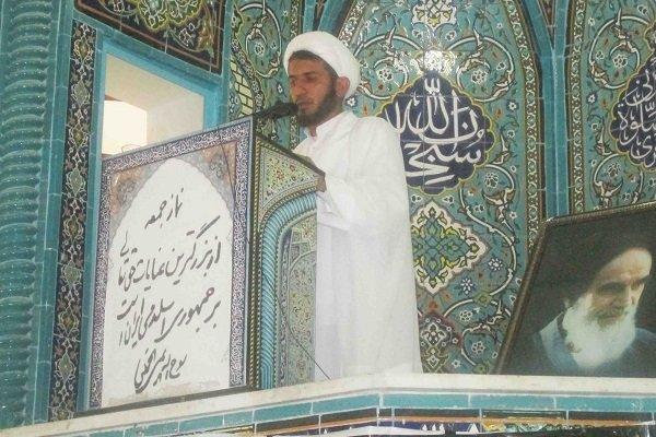 حجت الاسلام محمد حمیدی نژاد امام جمعه آبدان