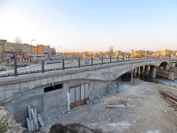 پل جدیدالاحداث امتداد راسته کوچه تبریز