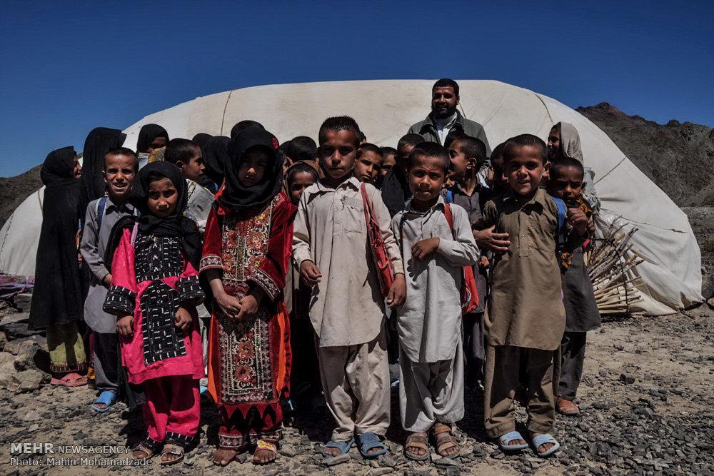 مدرسه کپری ایرانشهر