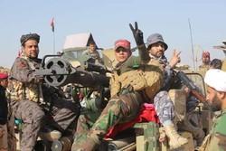 """مواجهات """"عنيفة"""" بين الحشد الشعبي وارهابيي """"داعش"""" جنوب مدينة القائم الحدوية مع سوريا"""