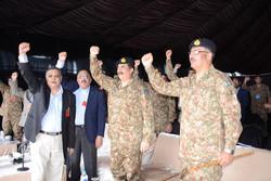۸ کشته در درگیری ارتش پاکستان با شبه نظامیان