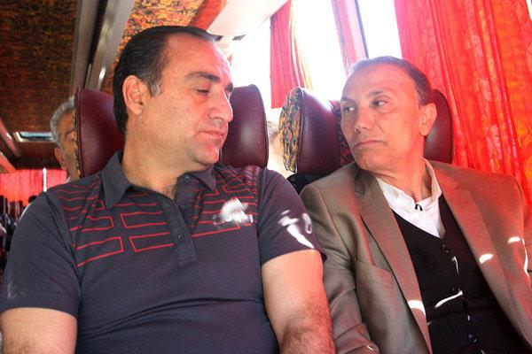 حمید درخشان - حسین عبدی