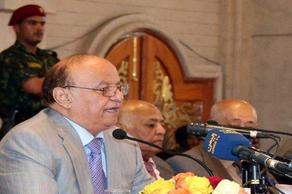یمن کے فراری صدر مخفیانہ طور پر عدن پہنچ گئے