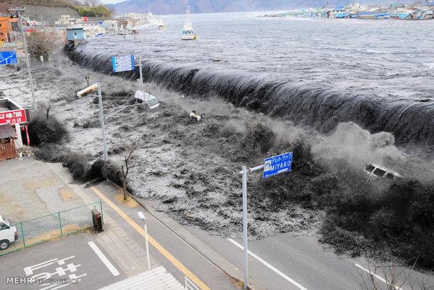 سونامی مرگبار ژاپن