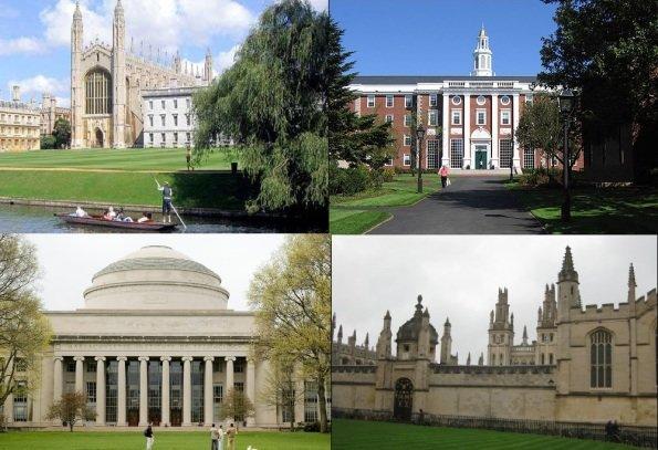 ۱۰۰ دانشگاه برتر دنیا توسط نخبگان معرفی شدند
