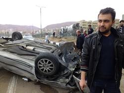 سانحه رانندگی در اتوبان پاسداران تبریز