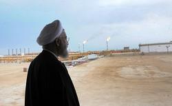 روحاني يفتتح ثلاثة مشاريع اقتصادية في عسلوية