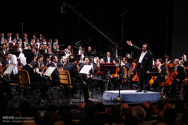آئین بازگشایی ارکستر سمفونیک تهران