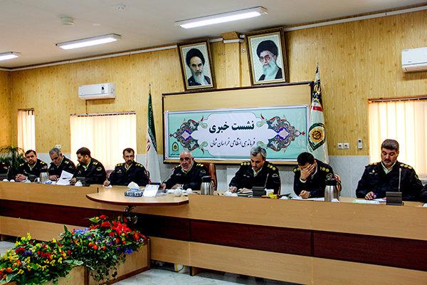 نشست خبری فرماندهی انتظامی خراسان شمالی