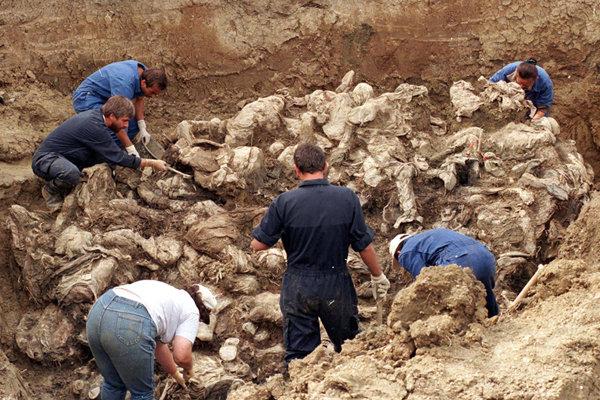کشف یک گور دستهجمعی در عراق